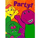 Barney and Friends Vintage 2002 Invitations and Thank You Notes w/ Envelopes (8ct ea.)