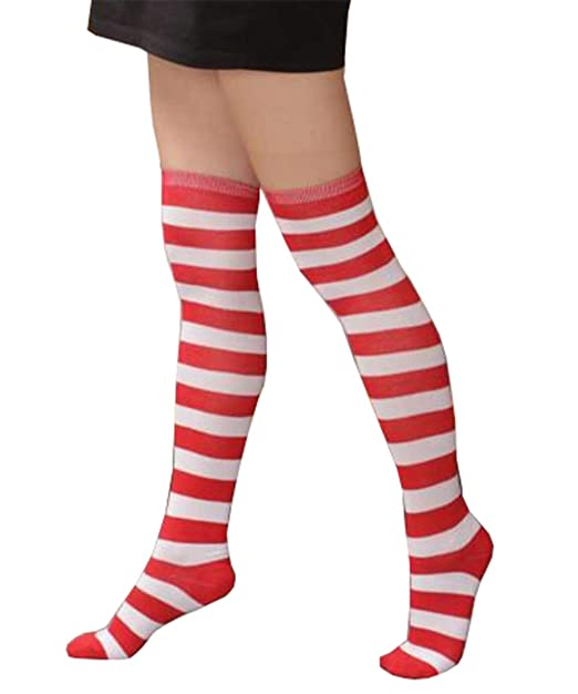 1f19f15ecf6 Womens Winter Warm Cable Knit Over Knee Long Boot Thigh-High Socks Leggings  (One