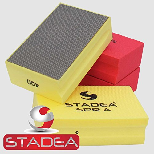 Polishing Pad Electroplated Grit 400 for Granite Concrete Terazzo Polishing ()