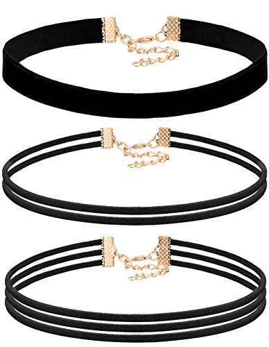 FIBO STEEL 1 5Pcs Necklace Adjustable