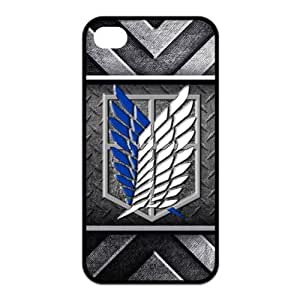 Fashion Attack on Titan Protective Hard Durable Coated Case Cover for iPhone 4 / iPhone 4S