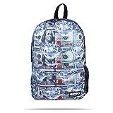 PSD Money Diamond Backpack, White, One Size