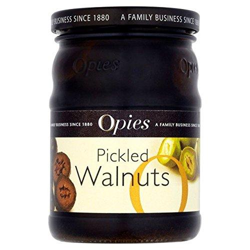 Opies Pickled Walnuts - 390g (Walnut Pickled Pickles)