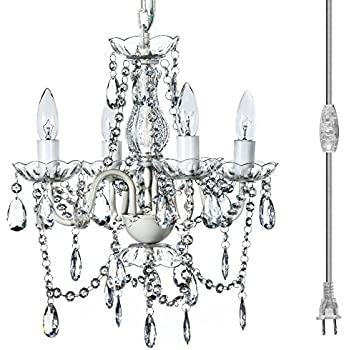 The original gypsy color 4 light plug in pendant chandelier for h17 the original gypsy color 4 light plug in pendant chandelier for h175 x aloadofball Image collections
