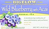 BIGELOW Herbal Tea Wild Blueberry with Acai, 20 - Best Reviews Guide