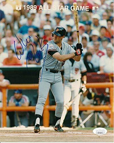 Will Clark Autographed Photo - 8x10 144341 - JSA Certified - Autographed MLB Photos