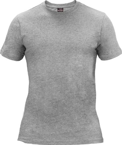 "Urban : ""Basic Tee"" Size: M, Color: grey …TB168"