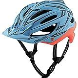 Troy Lee Designs A2 MIPS Helmet Pinstripe Blue/Red, M/L