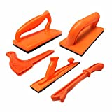 Big Horn 10228 Woodworkers Table Saw Safety Push Block Set (5 Piece)