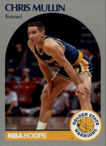 Basketball NBA 1990-91 Hoops #116 Chris Mullin NM-MT Warriors