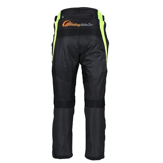 Pantalones armadura para motoristas LKN para hombre impermeables resistentes al viento y a todo tipo de climas protectores