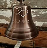 Personalized Anniversary/Wedding Brass Bell
