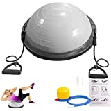 Balance Ball, Sportneer Balance Trainer with Resistance Bands and Pump, for Yoga Fitness, Stability Workout, Strength Exercise