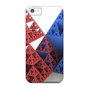 High Grade PamarelaObwerker Flexible Tpu Cases For Iphone 5c - Pyramids 3d