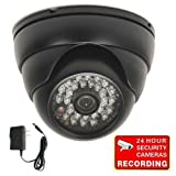 VideoSecu Day Night IR Outdoor Security Camera 700TVL Built-in 1/3'' Sony Effio CCD Wide View Angle Lens with Power Supply for CCTV Home Surveillance System C39