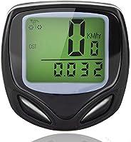 ZEERKEER Wireless Bike Speedometer Bicycle Computer and Odometer Waterproof Cycle Speed Tracking with Backligh