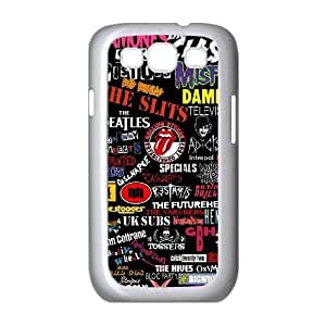 Samsung Galaxy S3 I9300 2D PersonSex Pistolszed Hard Back Durable Phone Case with Sex Pistols Image