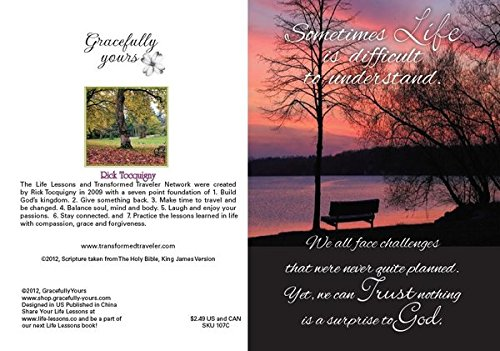 Gracefully Yours Paths of Life/Life Lessons Thinking of You Greeting Cards, 12, 4 designs/3 each with Scripture Message Photo #5