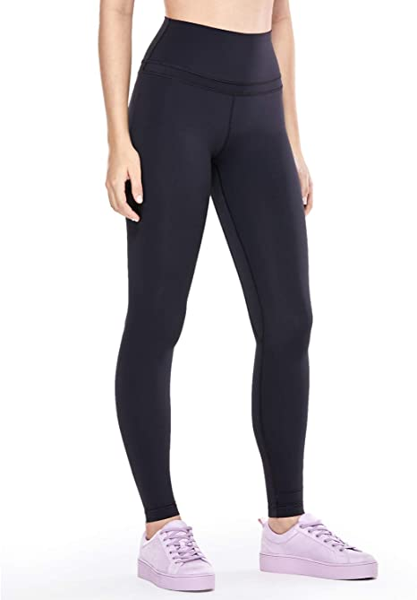 CRZ YOGA Womens Buttery Soft High Waisted Yoga Pants Full-Length Athletic Workout Leggings Naked Feeling -28 Inches