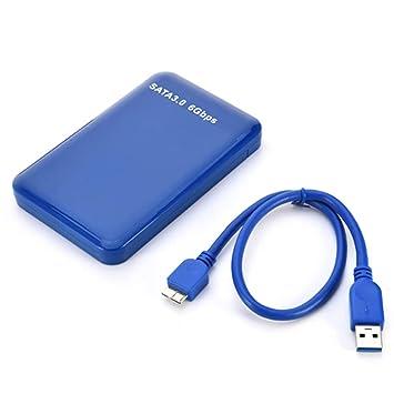 Lecimo Caja De Disco Duro USB 3.0 De 2,5 Pulgadas Caja De Disco ...