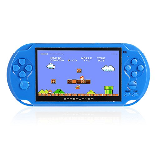 RONSHIN Handheld Portable Retro Game Console Video MP3 Player Camera Kids by RONSHIN (Image #3)