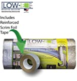 "ESP Low-E® SSR ""Non Fiberglass"" Up to 80 Gallon Water Heater Insulation Kit 6'x9', Made in the USA for over 25 Years. Includes: Low- E Reflective Insulation, Aluminum Foil Seam Tape and Self Adhered Foam Spacers. Save on Your Energy Bills, Increase the Efficiency of Your Tank ….It's Just That Simple …"