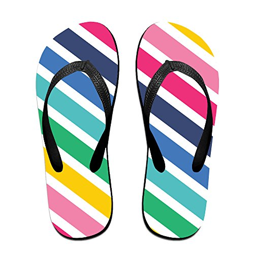 JESUS Color Oblique Fringe Fashion V Flip Flops Beach Slippers Chinela Baboosh Babouche (Almond Orange Brandy)