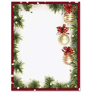 513CiXvO6%2BL._SY300_QL70_ Template Christmas Letterhead Border on letterhead text templates, stationery border templates, holiday border templates, holiday letterhead templates,