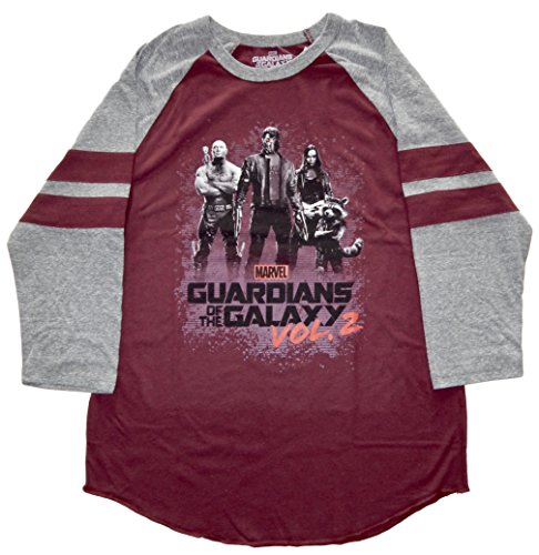Guardians of the Galaxy Group Men's Raglan T-shirt M