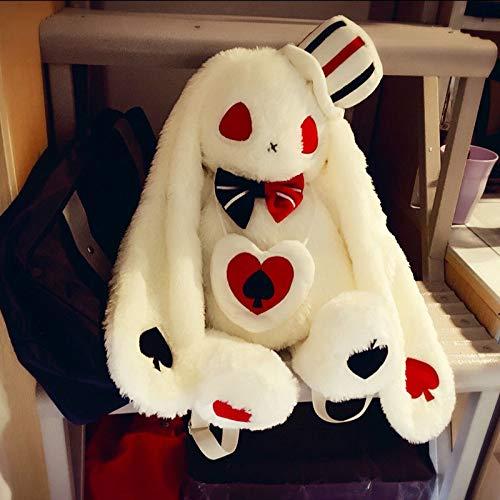 20 Amuse Pote Loppy Rabbit Plush Doll Backpack Lolita Girl Shoulder Bag Gift