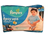Pampers Easy Ups Boys Mega Pack, 40 Count, Size 5 (3T - 4T), Thomas the Tank & Friends design