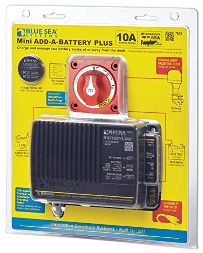 Blue Sea Systems Add-A-Battery Kit