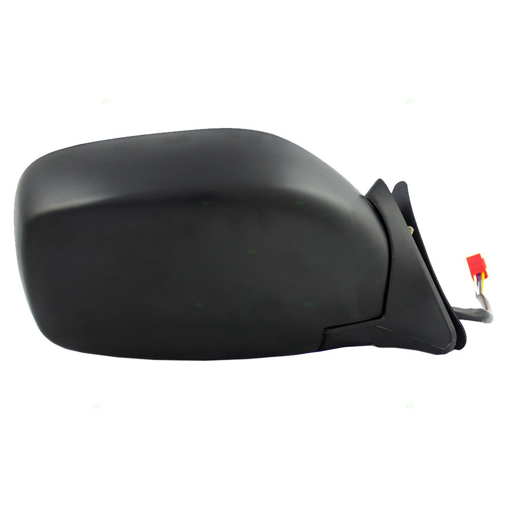 Passengers Power Side View Mirror Textured Replacement for 97-01 Jeep Cherokee SUV 55154948AC