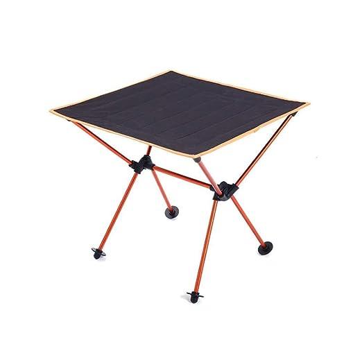 Mini mesa de picnic portátil, plegable, enrollable, ligera ...
