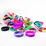 Vape Rings Silicone Anti Slip Band - Pack of 20 Vape Rings made - for RBA RDA Tank Mechanical Mods - Diameter 22mm (20pcs)