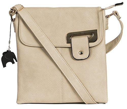 With Shop Big Charm Bag Light Shoulder Cross Protective Medium Storage Trim Gold Beige Branded and Womens a Trendy Bag Messenger Body Handbag gFgqrv
