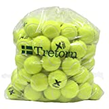 Tretorn Micro-X (Yellow) Pressureless Tennis Balls (Bag of 72 Balls)