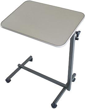 Multiusos mesa plegable con ruedas plegable portátil altura ...