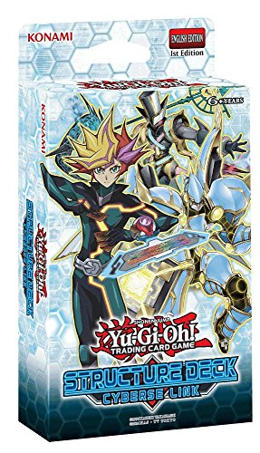 English Yu Gi Oh Card (YU-GI-OH CCG: STRUCTURE DECK - CYBERSE LINK)