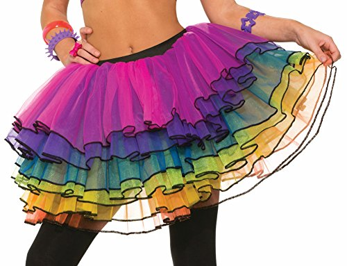 Forum Novelties Women's Sugar Vibe Costume Tutu, Multi
