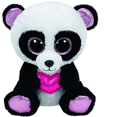 (Ty Beanie Boos Cutie Pie The Panda with Heart Plush )
