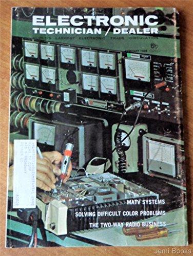 Electronic Technician Dealer Magazine February 1968 - Schematics For Magnavox T924, Packard Bell MSJ-202 MSJ-204, Philco Ford 18LT43, RCA Victor CTC28, Silvertone 528.71150, Zenith 1Y21B55