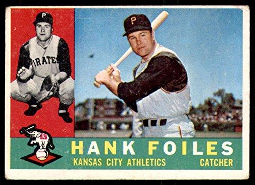 (1960 Topps #77 Hank Foiles Very Good Athletics)