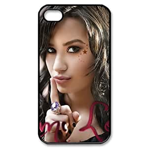 Customize Singer Demi Lovato Cellphone Case Fits for Apple iphone 4 4S JN4S-1841