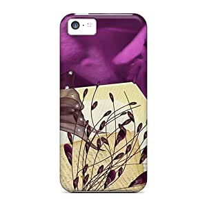 Protection Case For Iphone 5c / Case Cover For Iphone(vintage Purple Roses)
