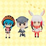 Kemono Friends Chobirume Puti Mini Figure Toy - All 3 Type Set [ Aonyx cinerea / Ibis / Tsuchinoko ]