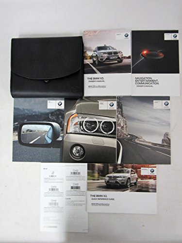 2015 BMW X3 Owners Manual Guide Book