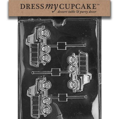 Dress My Cupcake Chocolate Candy Mold, Dump Truck