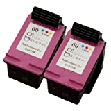 Sophia Global Remanufactured Ink Cartridge Replacement for HP 60 (2 Color), Office Central