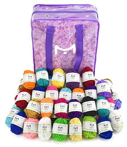 Mira Handcrafts Yarn Bonbons Accessories